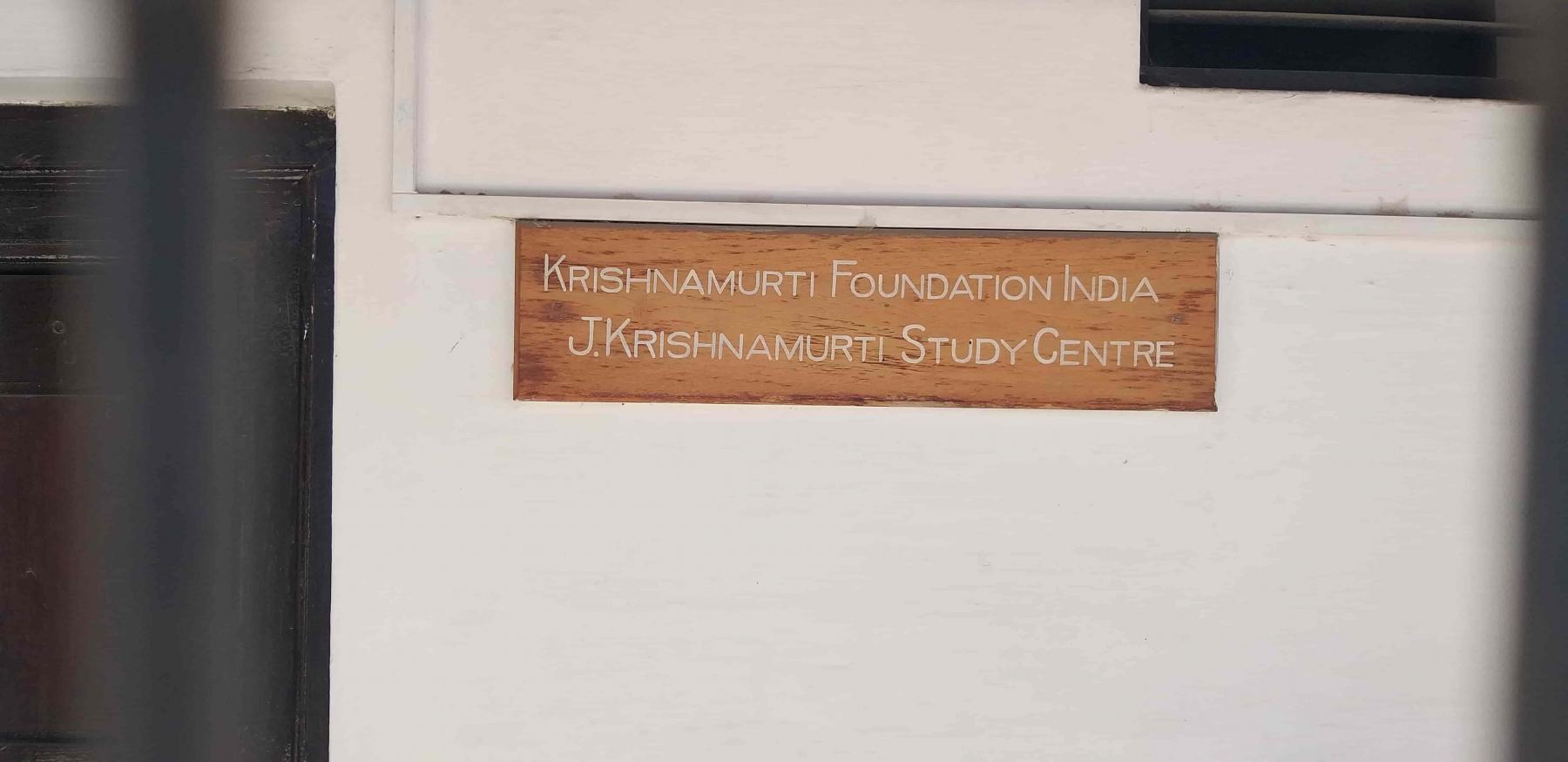 Jiddu Krishnamurti Study Centre